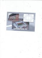 UK  FOOTBALL LEAGUE   ANFIELD STADIUM  HOME OF LIVERPOOL FC   CARD NO FST5 - Stadiums