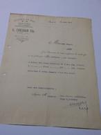 T624 / Facture G. COESNON Fils - Epicerie En Gros - GACÉ Orne - Invoices
