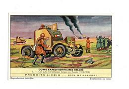 "12343 "" CORPS EXPEDITIONNAIRES BELGES - N°5 - LES AUTO-MITRAILLEUSES BELGES EN RUSSIE (1914-1918) "" - Liebig"