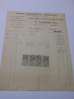 T625 / Facture G. COESNON Fils - Epicerie Droguerie Et Comestibles - GACÉ Orne - Invoices
