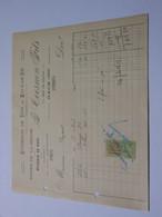 T626 / Facture G. COESNON Fils - ENTREPOT DE VINS ET EAUX DE VIE - 11 Rue De Rouen - GACÉ Orne - Invoices