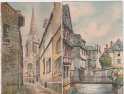 Bn - Lot De 2 Cpa Illustrées BARDAY - Quimper Et Vitré - Barday