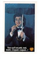 Pub BELIN - Michel Boujenah 1991 (parapluie) - Advertising