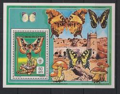 Mauritanie - 1990 - SB N° Yv. 641 - Papillons / Butterflies - Neuf Luxe ** / MNH / Postfrisch - Vlinders