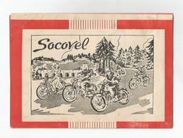 Socovel Dépliant Publicitaire Moto Avec Photo Et Description Technique 200 Cc Luxe, 125 Cc, 100cc Et Vélomoteur 100 - Motor Bikes