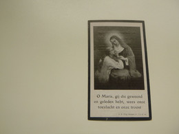 Doodsprentje ( 6720 )  Loos  Smeets  -  Curingen  Hasselt   1922 - Obituary Notices
