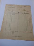 T634 / Facture CONFECTION TISSUS BONNETERIE ET MERCERIE EN GROS - VEUVE P. SIMON à LISIEUX Calvados - Invoices