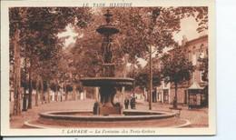 Lavaur  La Fontaine Des Trois Grâces - Lavaur