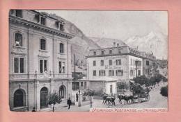 OUDE POSTKAART - ZWITSERLAND -  MEIRINGEN- POSTKUTSCHE - GRIMSEL POST - BE Berne