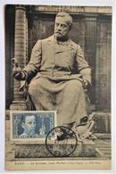 Carte Maximum PASTEUR 385 Obl Ordin Paris De 1938 - 1930-39