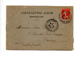 MONTPELLIER (34) - Carte Lettre Album (6 Vues) - Montpellier