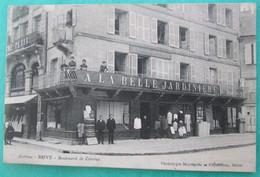 Corrèze  -  BRIVE  -  Boulevard De Corrèze   -  A La Belle Jardinière  -  Phototypie Meyrignac Et Puydebois, Brive - Brive La Gaillarde