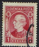 Slowakei 1939, MiNr 40ya, Gestempelt - Usados