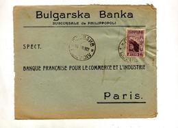 Devant De Lettre Cachet ? Sur Chateau Entete Banque - Brieven En Documenten