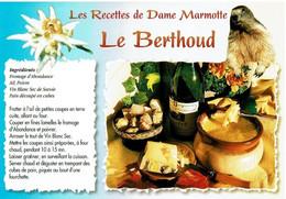 Les Recettes De Dame Marmotte : Le Berthoud - éditions Seca - Neuve - Recipes (cooking)