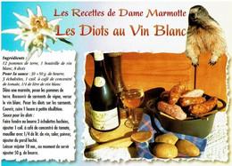 Les Recettes De Dame Marmotte : Les Diots Au Vin Blanc - éditions Seca - Neuve - Recipes (cooking)