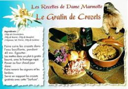 Les Recettes De Dame Marmotte : Le Gratin De Crozets - éditions Seca - Neuve - Recipes (cooking)