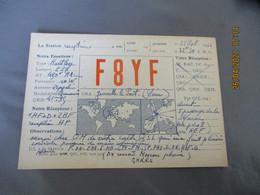 Carte Qsl Joinville Le Pont 1934 F8yf - Amateurfunk