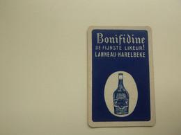 Speelkaart ( 0559 ) Dos D' Une Carte à Jouer - Wijn Vin Likeur Liqueur  Distillerie Stokerij  -   Harelbeke - Barajas De Naipe
