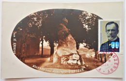 Carte Maximum PASTEUR 2925 Obl Et Monument à NOZEROY - 1930-39