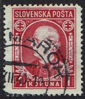 Slowakei 1939, MiNr 40xa, Gestempelt - Usados