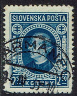 Slowakei 1939, MiNr 41xa, Gestempelt - Usados