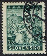 Slowakei 1939, MiNr 43, Gestempelt - Usados