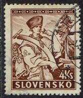 Slowakei 1939, MiNr 44, Gestempelt - Usados