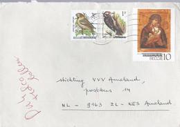 Belgie Brief Uit 1991 Met 3 Zegels Taalstrijd (1180) - Covers & Documents