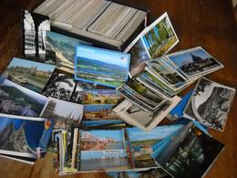 LOT De 1000 CPSM Et CPM ETRANGER (tous Pays) - 500 Postcards Min.