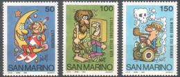 """San Marino - 1984 """"Scuola E Filatelia - Disegni Di Jacovitti"""" S. Cpl 6v MNH** - Nuevos"""