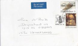 Cyprus Luchtpostbrief Uit 1985 Met 3 Zegels (1182) - Cartas