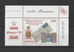 MONACO.  YT   N° 2190   Neuf **  1999 - Unused Stamps
