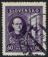 Slowakei 1939, MiNr 46x, Gestempelt - Usados