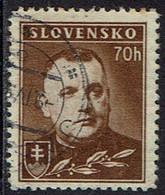 Slowakei 1939, MiNr 68ya, Gestempelt - Usados