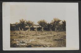 SOMALIA SOMALILAND THE MOSQUE AND DATE PALMS BERBERA 1933 STAMP SOMALILAND PROTECTORATE - Somalië