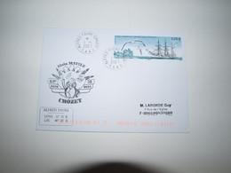 Crozet 1er Jour Timbre La Meurthe à Crozet 1-1-2021 - Covers & Documents