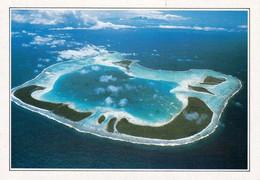 1 AK Französisch Polynesien - French Polynesia * Blick Auf Das Tetiaora Atoll - Luftbildaufnahme * - French Polynesia
