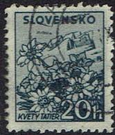 Slowakei 1940, MiNr 73xa, Gestempelt - Usados