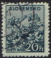 Slowakei 1940, MiNr 73ya, Gestempelt - Usados