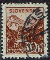 Slowakei 1940, MiNr 75xa, Gestempelt - Usados