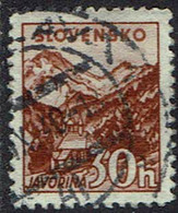 Slowakei 1940, MiNr 75ya, Gestempelt - Usados
