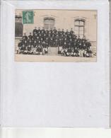 Carte Photo Militaria Classe 1906, Cne Jacques 88, 6 Cie, 20ème Bataillon De Chasseurs (photo Renard Baccarat 88) - Régiments