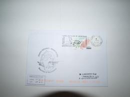 Saint Paul Et Amsterdam Flamme Otarie 1-11-2020 1er Jour??   Cachet Gérant Postal - Covers & Documents