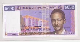 Djibouti 5000 Francs UNC Etat Voir Scann - Djibouti