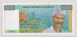 Djibouti 10 000 Francs UNC Etat Voir Scann - Djibouti