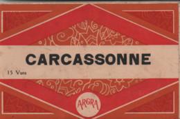 11-CARNET DE 15 CARTES DE CARCASSONNE - Carcassonne