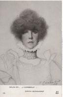 SARAH BERNARDT  SALON 1911  J. CORABOEUF - Entertainers