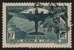 France N°321, Atlantique-Sud 1936, Oblitéré - B/TB - COTE 150€ - Gebraucht