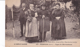 Le Morvan Illustré Marnais Types De Morvandeaux, Rare - Otros Municipios